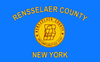 Flag of Rensselaer County, New York