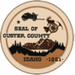 Seal of Custer County, Idaho
