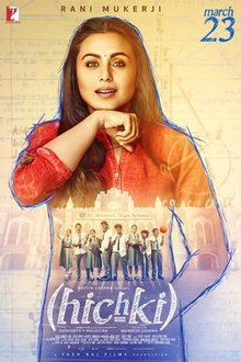 The poster features Rani Mukerji and the title appears at bottom.