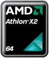 AMD Athlon X2 logo as of 2007