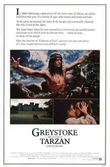 Greystoke The Legend of Tarzan Lord of the Apes 1984.jpg