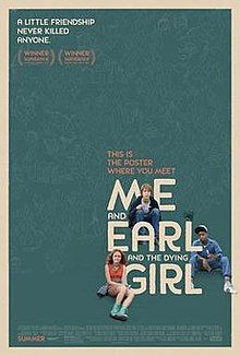 Me & Earl & the Dying Girl (film) POSTER.jpg