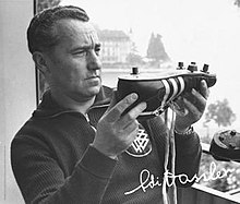 Adi Dassler, his trainers shoes and autograph.jpg