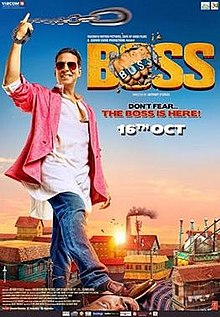 Boss (2013 Hindi film) Theatrical Poster.jpg