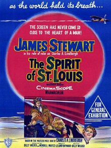 The Spirit of St. Louis- 1957 - Film Poster.png
