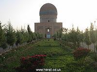 آرامگاه ملکه گوهر شاد بیگم در نواحی مرکزی شهر هرات