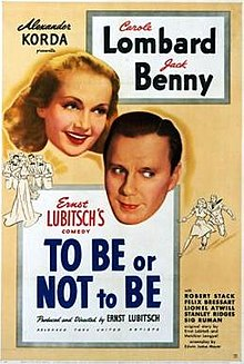 To Be or Not to Be 1942 poster.jpg