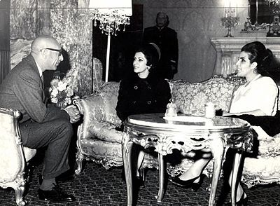 Shams pahlavi and mohammad zaher.jpg
