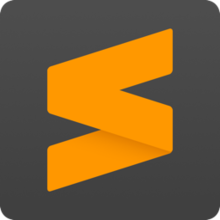 Sublime Text 3 logo.png