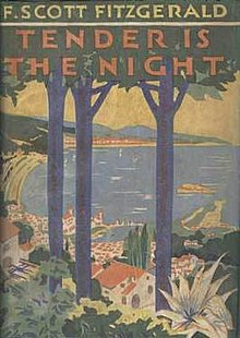 TenderIsTheNight (Novel) 1st edition cover.jpg