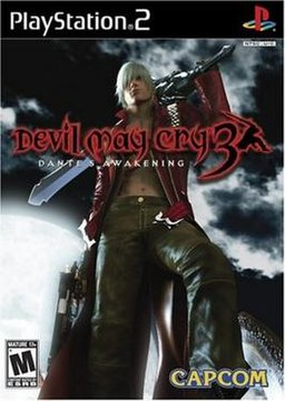 'Devil May Cry 3: Dante's Awakening box cover Capcom Production Studio 1