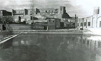 قلعه باستانی که توسط عزیزخان، احیا شد