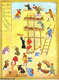 اثری از استاد کمال الدین بهزاد یکی از مشاهیر هرات در عرصه منیاتوری