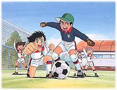 Ganbare, Kickers یا همون فوتبالیستها
