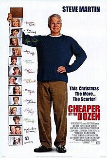 Cheaper by the Dozen 2003 film poster.jpg