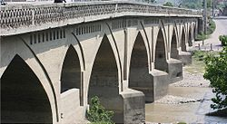 Mohammadhassan khan bridge in Babol.jpg