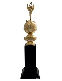 The Cecil B. DeMille Award statuette