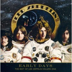 Kokoelmalevyn Early Days: The Best of Led Zeppelin Volume One kansikuva