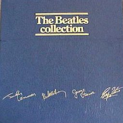 Boksi-julkaisun The Beatles Collection kansikuva