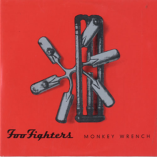 "Singlen ""Monkey Wrench"" kansikuva"