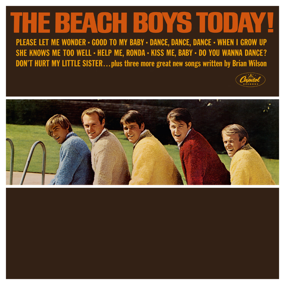 Studioalbumin The Beach Boys Today! kansikuva