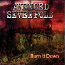 "Singlen ""Burn It Down"" kansikuva"