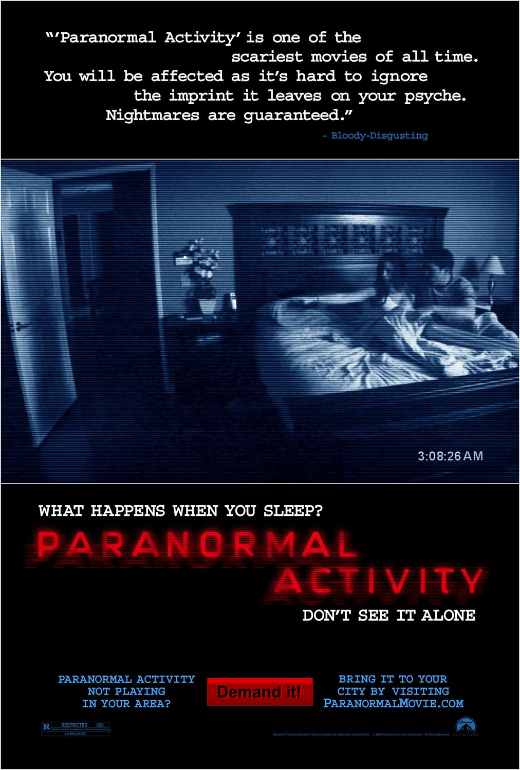 paranormal activity � wikipedia