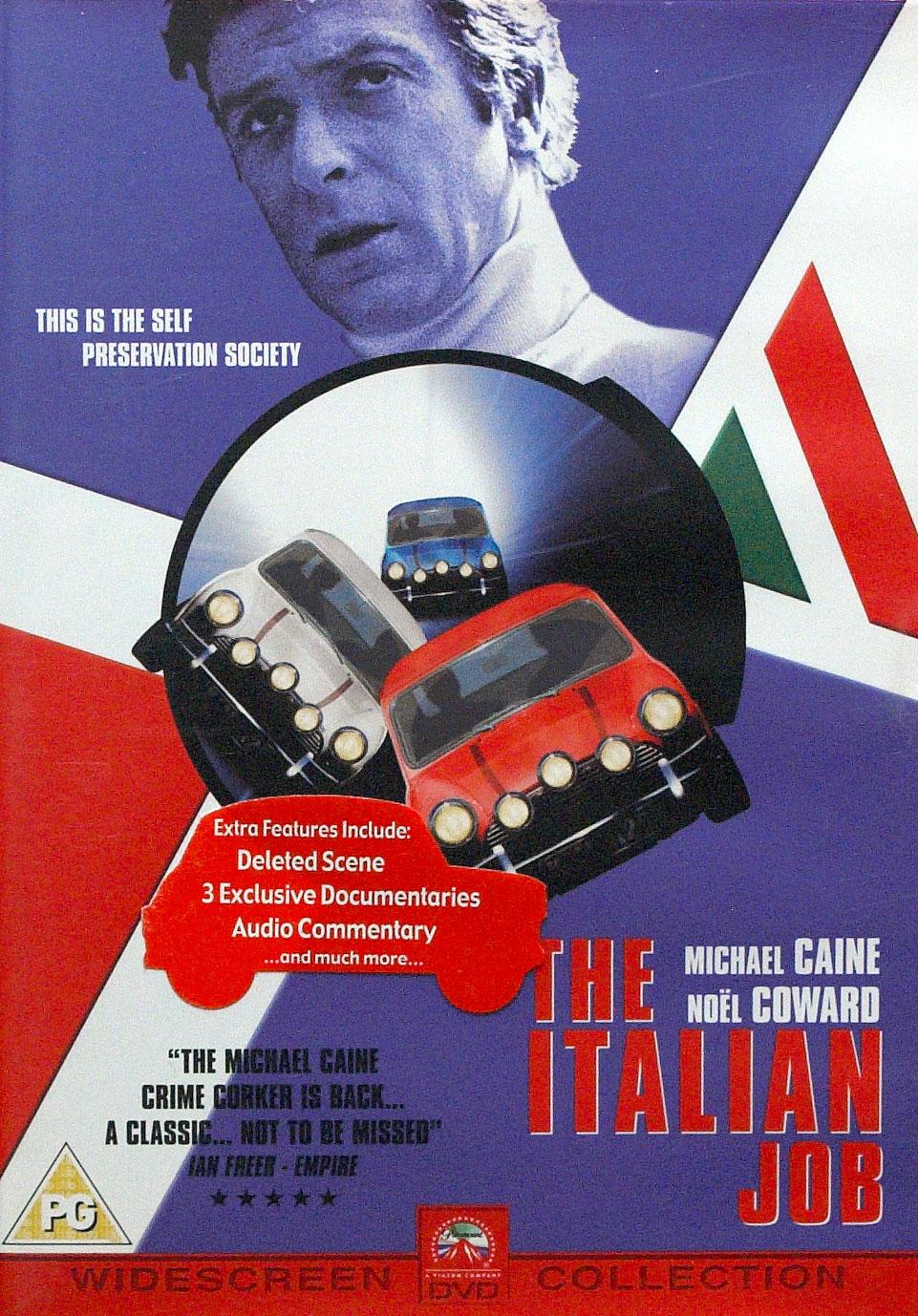 Italian Job 1969 Poster images - 445.0KB