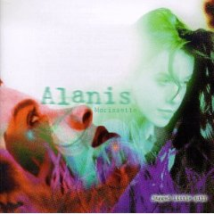 Studioalbumin Jagged Little Pill kansikuva