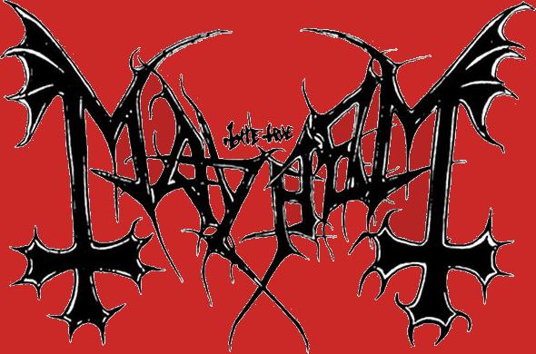 Pin Mayhem Logo on Pin...