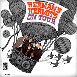 Studioalbumin Herman's Hermits on Tour kansikuva