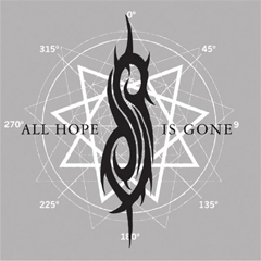 "Singlen ""All Hope Is Gone"" kansikuva"
