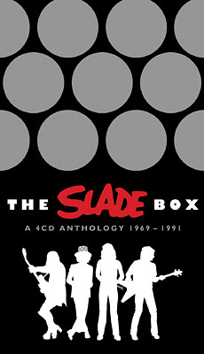 Boksi-julkaisun The Slade Box – A 4 CD Anthology 1969–1991 kansikuva