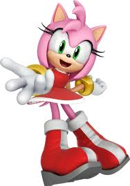 Amy Rose pelissä Sonic & Sega All-Stars Racing.