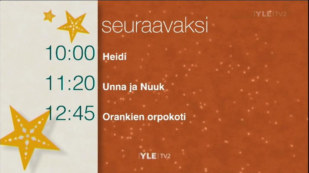 yle tv2 ohjelmatiedot Tampere