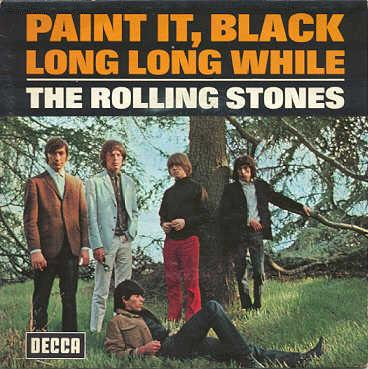 When Did Rolling Stones Paint It Black Come Out