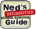 Ned's Declassified-sarjan logo