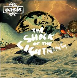 "Singlen ""The Shock of the Lightning"" kansikuva"
