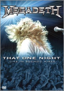 DVD-julkaisun That One Night: Live in Buenos Aires kansikuva