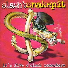 Studioalbumin It's Five O'Clock Somewhere kansikuva