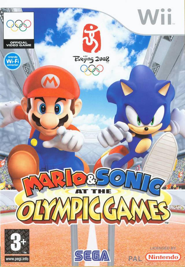 Mario & Sonic at the Olympic Games (Wii) commercial - YouTube