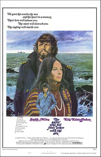 the sailor who fell from grace Drama jonathan kahn in the sailor who fell from grace with the sea (1976)  kris kristofferson in the sailor who fell from grace with the sea (1976) kris  kristofferson.