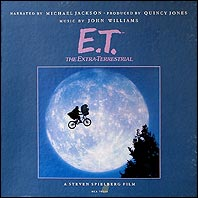 Soundtrackin E.T. the Extra-Terrestrial kansikuva