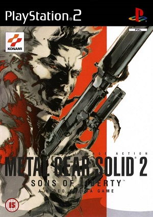 Metal Gear Solid 2: Sons of Liberty -kansi