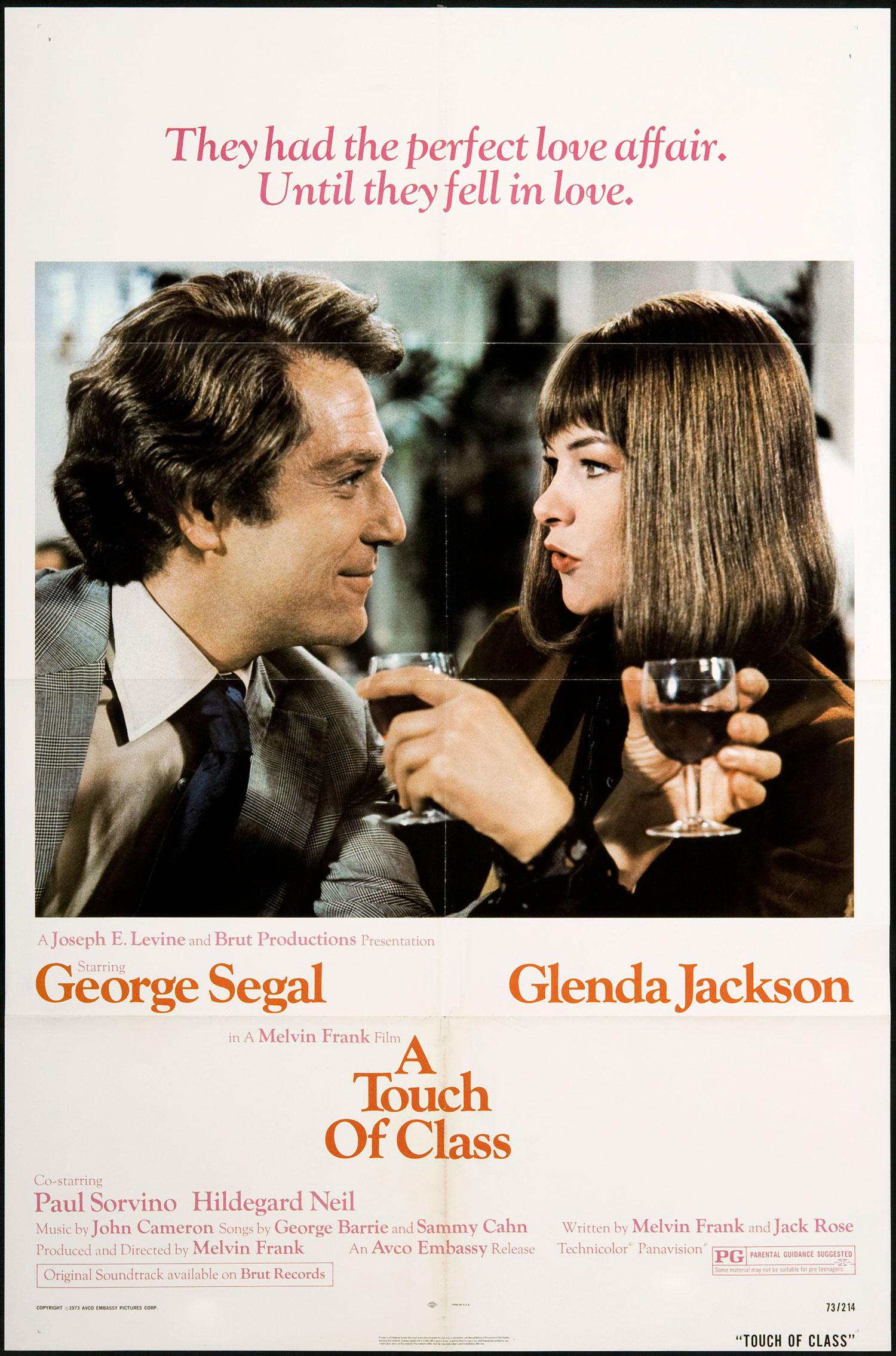 Resultado de imagem para a touch of class 1973