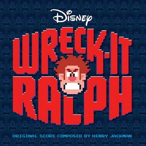 Soundtrack-albumin Wreck-It Ralph kansikuva
