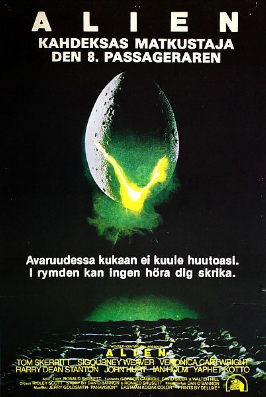 Alien Movie Alien � kahdeksas matkustaja