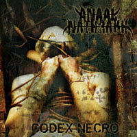 Studioalbumin The Codex Necro kansikuva