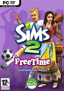 The Sims 2 - FreeTime Coverart.png