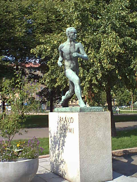 Paavo Nurmi Patsas
